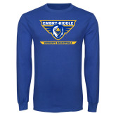 Royal Long Sleeve T Shirt-Womens Basketball