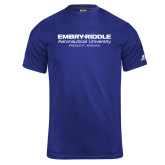 Russell Core Performance Royal Tee-University Mark