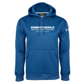 Under Armour Royal Performance Sweats Team Hoodie-University Mark