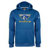 Under Armour Royal Performance Sweats Team Hoodie-Womens Basketball