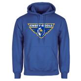 Royal Fleece Hoodie-Athletic Mark
