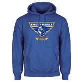 Royal Fleece Hoodie-Athletic Mark - Arizona