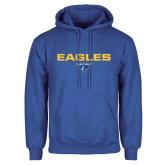 Royal Fleece Hoodie-Eagles