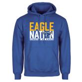 Royal Fleece Hoodie-Eagle Nation