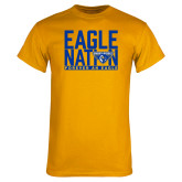 Gold T Shirt-Eagle Nation