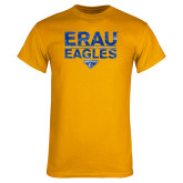 Gold T Shirt-ERAU Eagles