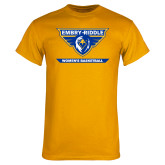 Gold T Shirt-Womens Basketball
