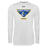 Under Armour White Long Sleeve Tech Tee-Athletic Mark - Arizona