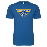 Next Level SoftStyle Royal T Shirt-Athletic Mark