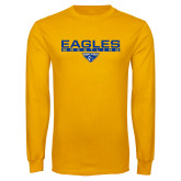 Gold Long Sleeve T Shirt-Wrestling Bar