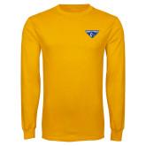 Gold Long Sleeve T Shirt-Athletic Mark