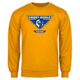 Gold Fleece Crew-Athletic Mark - Arizona