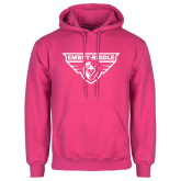 Fuchsia Fleece Hoodie-Athletic Mark