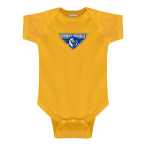 Gold Infant Onesie-Athletic Mark