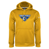 Under Armour Gold Performance Sweats Team Hoodie-Athletic Mark