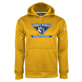 Under Armour Gold Performance Sweats Team Hoodie-Womens Basketball