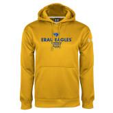 Under Armour Gold Performance Sweats Team Hoodie-Basketball Sharp Net