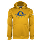 Under Armour Gold Performance Sweats Team Hoodie-Soccer Half Ball