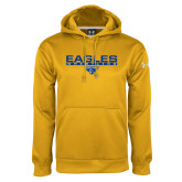 Under Armour Gold Performance Sweats Team Hoodie-Wrestling Bar