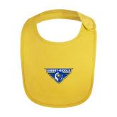 Yellow Baby Bib-Athletic Mark