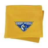 Gold Sweatshirt Blanket-Athletic Mark