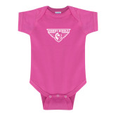 Fuchsia Infant Onesie-Athletic Mark