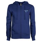 ENZA Ladies Royal Fleece Full Zip Hoodie-Athletic Mark