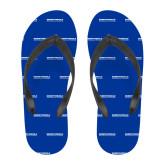 Full Color Flip Flops-University Mark