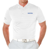 Callaway Opti Vent White Polo-University Mark