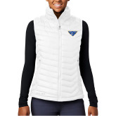 Columbia Lake 22 Ladies White Vest-Athletic Mark