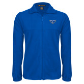 Fleece Full Zip Royal Jacket-Athletic Mark