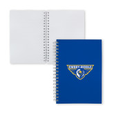 Clear 7 x 10 Spiral Journal Notebook-Athletic Mark