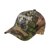 Mossy Oak Camo Structured Cap-Athletic Mark
