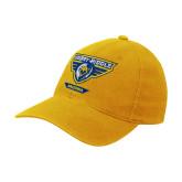 Gold Flexfit Mid Profile Hat-Athletic Mark - Arizona