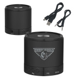 Wireless HD Bluetooth Black Round Speaker-Athletic Mark  Engraved