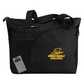 Excel Black Sport Utility Tote-Embry Riddle Athletics