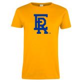 Ladies Gold T Shirt-ER