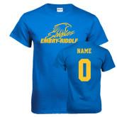 Royal T Shirt-Primary Mark, Custom Tee w/ Name and #