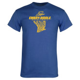 Royal T Shirt-Basketball Net
