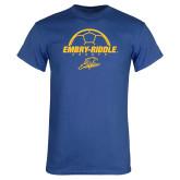 Royal T Shirt-Soccer Ball