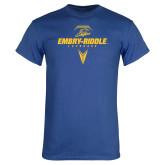 Royal T Shirt-Lacrosse Geometric
