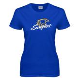 Ladies Royal T-Shirt-Eagles
