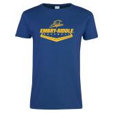 Ladies Royal T-Shirt-Baseball Plate