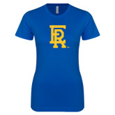 Next Level Ladies SoftStyle Junior Fitted Royal Tee-ER