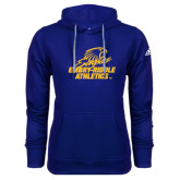 Adidas Climawarm Royal Team Issue Hoodie-Embry Riddle Athletics