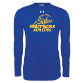 Under Armour Royal Long Sleeve Tech Tee-Embry Riddle Athletics