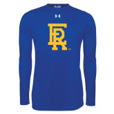 Under Armour Royal Long Sleeve Tech Tee-ER