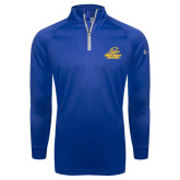 Under Armour Royal Tech 1/4 Zip Performance Shirt-Embry Riddle Athletics