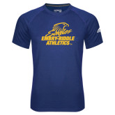 Adidas Climalite Royal Ultimate Performance Tee-Embry Riddle Athletics