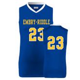 Replica Royal Adult Basketball Jersey-#23